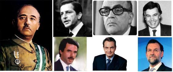 PresidentesEspaña